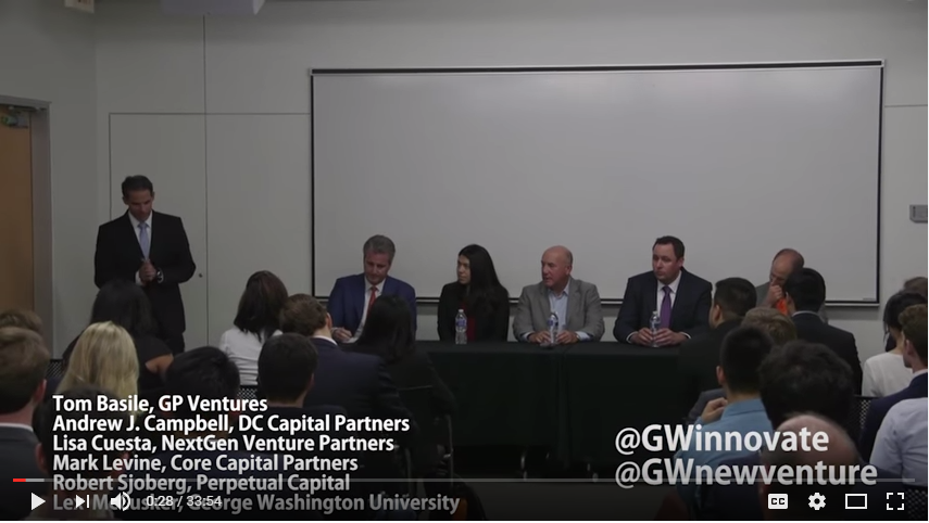 Angel, VC, and PE Investors Panel - 10.18.16