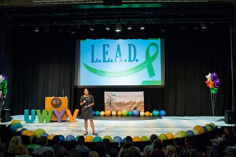 Kyrah Altman, Founder of L.E.A.D., presents her social enterprise.