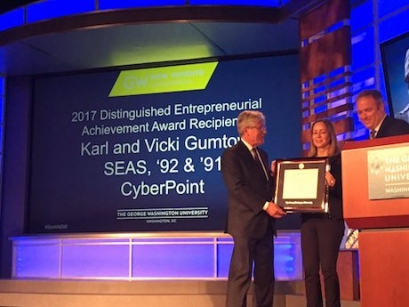 2017 DEA Award Winners - Vicki and Karl Gumtow, SEAS
