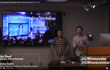 Video Storytelling Workshop with Planet Forward - 12.1.16