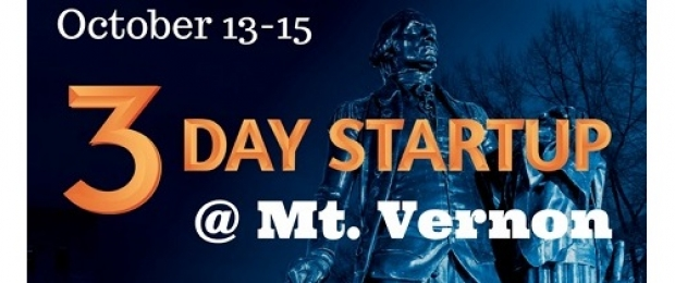 3-Day Startup @ Mt. Vernon: Register Now!