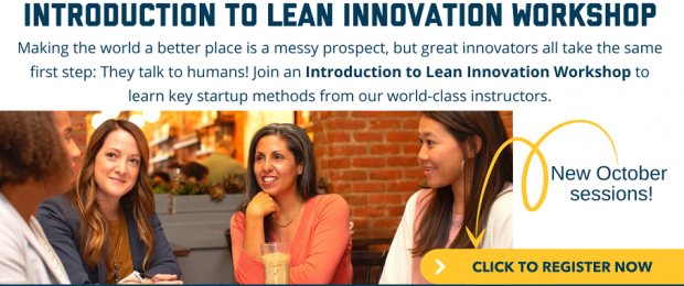 Introduction to Lean Innovation Workshop